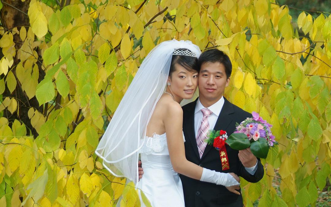 Esküvő őszi színekben