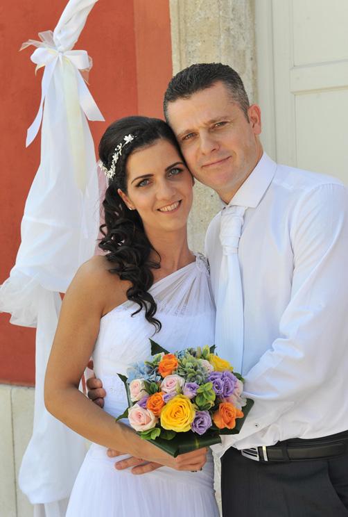 Menyasszony és Vőlegény első fényképe