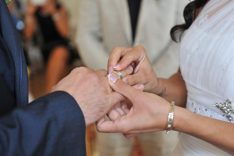 A vőlegény jegygyűrűje
