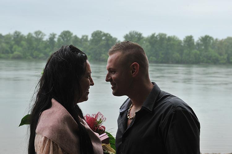 Szerelem, Duna, gyönyörű pár, viszlát az esküvőn.....!