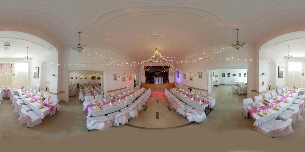 esküvői fotózás 360 fokban